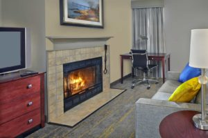 Many Suites Offer Fireplaces