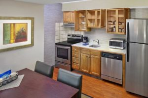 Suite Kitchen, Fully Stocked